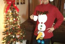 Ugly sweater winners! / by Sue Erickson