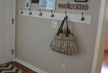 Entry way ideas / by Katie Leviner