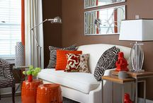 fall decorating color combinations / by Theresa Johnston