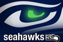 Seattle Seahawks! / by Krysta Johnson