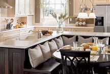 Kitchen and dinning / by Mindy Umphrey