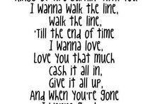 Lyrics / by Brandi Gonzalez