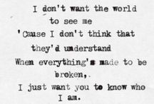 Lyrics / by Juliette Wyatt
