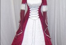 Period clothing and costumes  / by Marcia