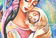 Mother and baby / by Belinda Panebianco