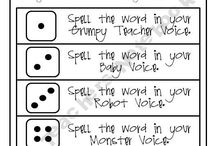 Spelling / by Betsy Rettler