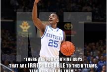 Kentucky and Basketball / by Melanie Monroe