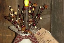 primitive decor / by Kim Morrow