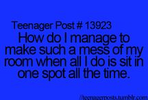 teenager posts / by Abby Insanity
