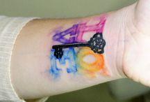 Tattoos & Piercings / by Hailee Lucero