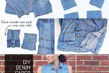 riciclo jeans / by sabrina amodei
