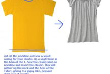 T Shirt Refashion  / by Brenda - Just a Bit Frayed