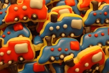 Kiddie Cookies / A collection of cookies created for our most special little clients :)  / by The Wacky Cookie Company