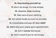 Great Advice for Life / by Marsha Lynn N