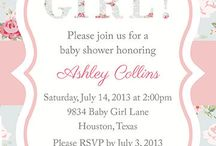 A baby shower / by Raina Seay