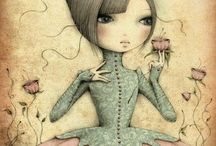 whimsical figures / by Micki Harper