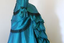 1880s: Late Bustle Era / Visual research of 1885 and thereabouts. / by Karen