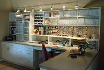 Organizing - Craft Rooms & Supplies / by Sandi Franco