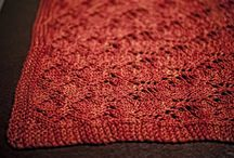 knitting projects, small and large / by Phyllis Herda
