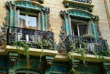 Art Nouveau / Belle Epoque /Jugendstil / Secesja / by Lucyna A. Smykowska