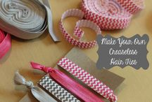 hairbow crafts / by Laura Parris