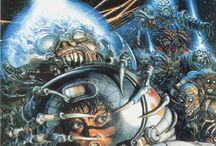 Art: Cyber, Sci-Fi, and Alien / Fantasy artwork from distant galaxies far far away! Enjoy! / by Brian Seyring