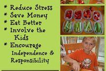 School Lunch Ideas / by Kim Ruth