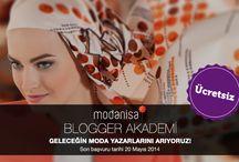 BLOGGER AKADEMİ / by Modanisa