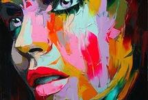 Francoise Nielly / Artista  / by Urriza Liliana
