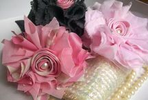Fabric Flowers / by Joni Brown