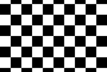 Checkered black and white / by Yvonne Jenks
