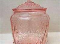 Pink Depression Glass / by Brenda Sandrick