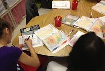 teaching-5th grade / by Corryn Morris-Fisco