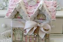 "Gingerbread Houses / by Debra (""Cake & Cookie Closet"") Mosely"