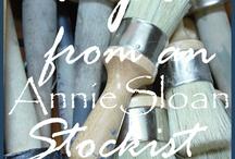 Annie Sloan / by vanessa Metz-Lommerse Simply Vintage