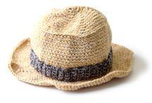 chapeus crochet / by LUCIMAR CARDOSO