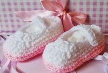 baby - shoes & crochet footwear 1() / by zeeniya zulfikar