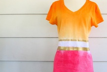 DIY - Tshirt and clothes upcycled / by Alma Hernandez de Rojas