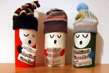 DIY : Toilet paper rolls creations / by Recyclart