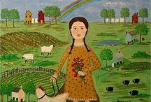 folk art / by Barbara Knight