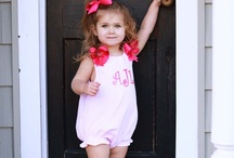 Baby girl closet / by Amanda Book Brown
