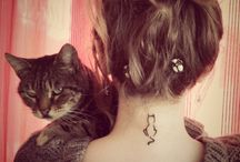 Cat tattoo / by Ros Hassall