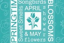 spring / by christine brooks