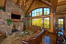 Asheville, NC Home / Windsor recently did a photoshoot of this beautiful home near Asheville, North Carolina. The windows are Windsor Pinnacle wood windows.  / by Windsor Windows & Doors