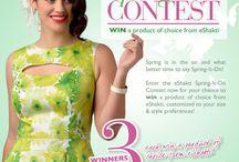 """""""eShakti Pin to Win!"""" / by shopfreak"""