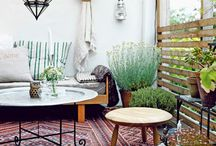 { outdoor living spaces } / by Adeline Flutterby