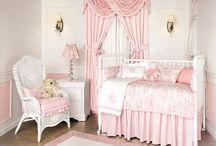 New Baby Girl Nursery Ideas / by Jessica Pool
