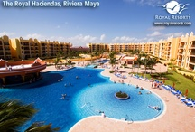 Riviera Maya Resorts - The Royal Haciendas / At the heart of the Riviera Maya, just five minutes to the north of Playa del Carmen, The Royal Haciendas® is a five-star resort hideaway on the shores of the Caribbean as perfect for relaxation as it is for a fun-packed family vacation. / by Royal Resorts