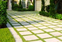 Curb Appeal / Driveways, porches, doors and landscape ideas for the front. / by Sophie