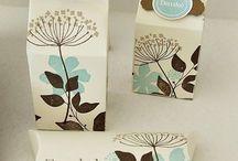 Doosjes, tags en andere kadoverpakkingen  / Allerlei doosjes om zelf te maken / by Miriam van Eyden